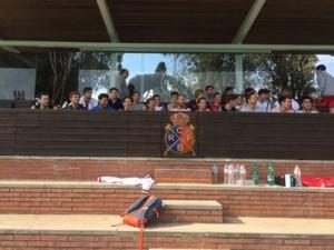 Vorbereitung auf die Rückrunde in Barcelona